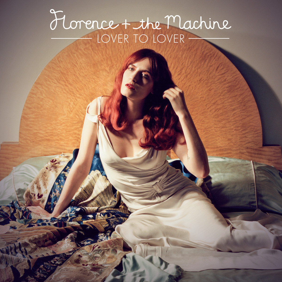 Florence + the Machine Lover to Lover official single EP artwork