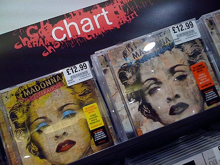 Two Identically Priced Madonna Hits CDs Which Is Best