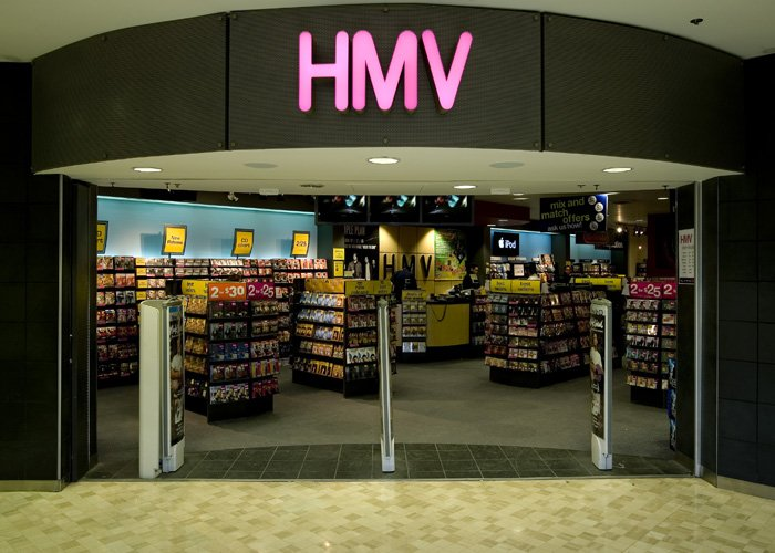Let's have a rummage around in a branch of HMV.