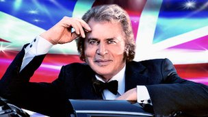 "Engelbert Humperdinck will get Eurovison ""back on track"" claims a man from the radio"