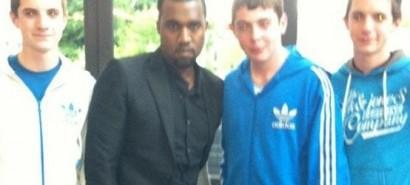 Kanye West went to the cinema twice last weekend