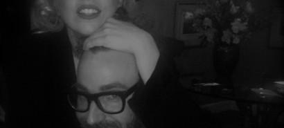 Lada Gaga was recording with DJ White Shadow last night