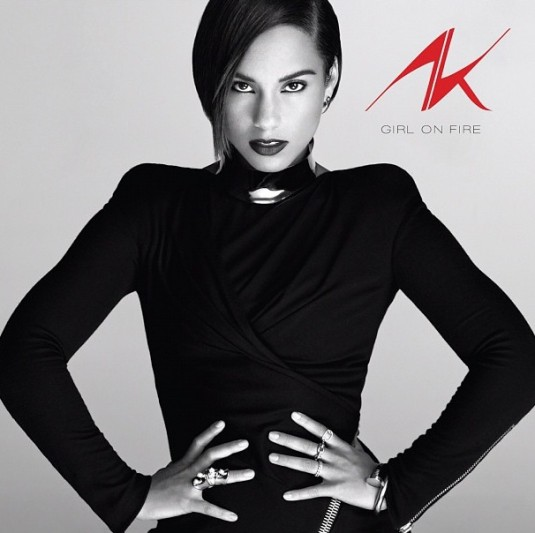 Alicia Keys' 'Girl On Fire' album now has a cover and ...