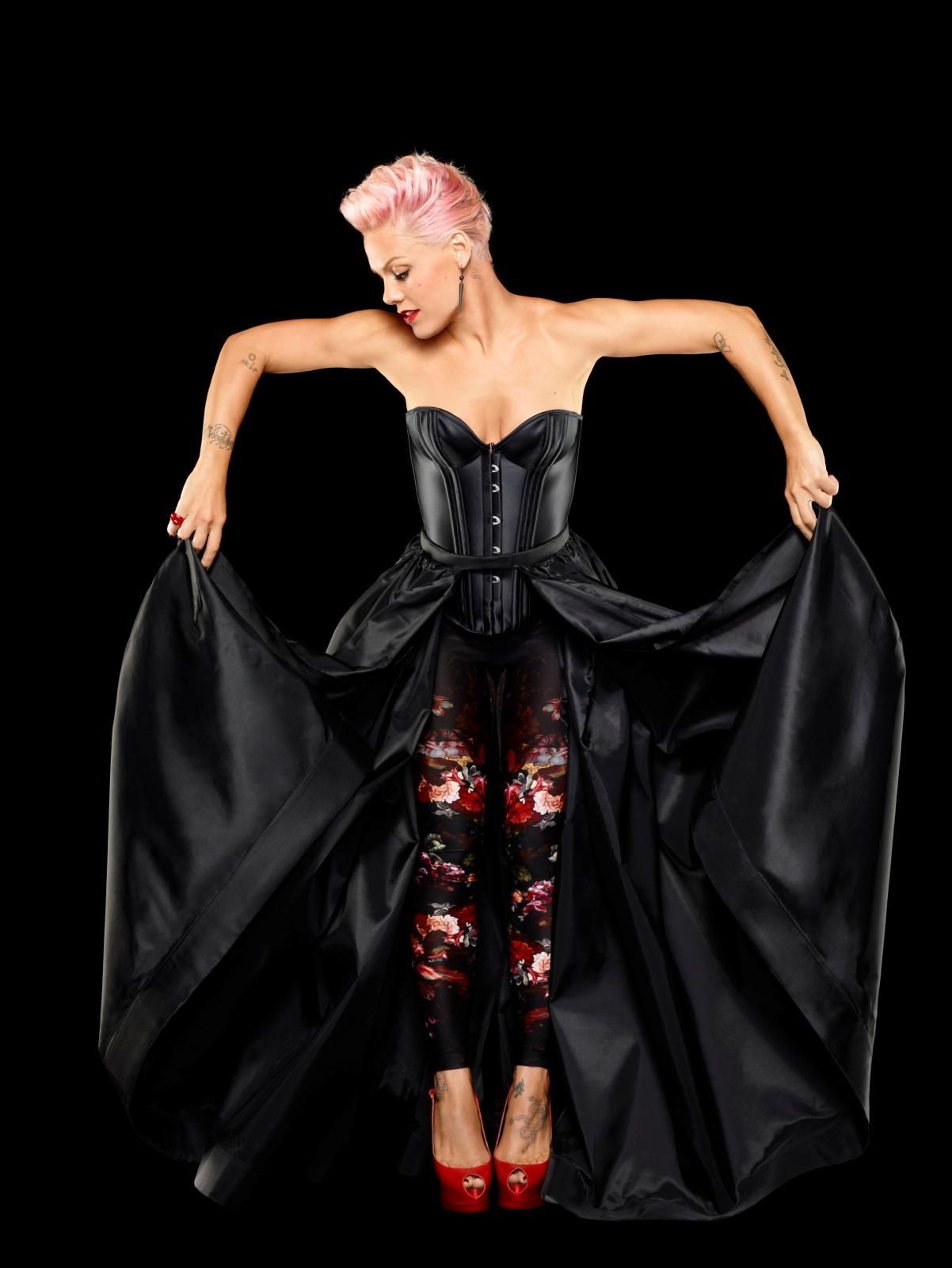 Pink thinks that when ...P!nk 2017 Photoshoot