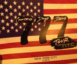 Tuesday: New York, 12:05am