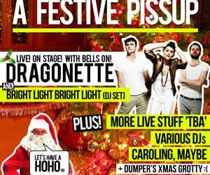 The Popjustice Festive Pissup is TODAY from 3pm onwards
