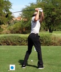 justin golfing