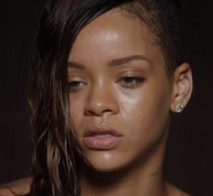 Rihanna in the bath