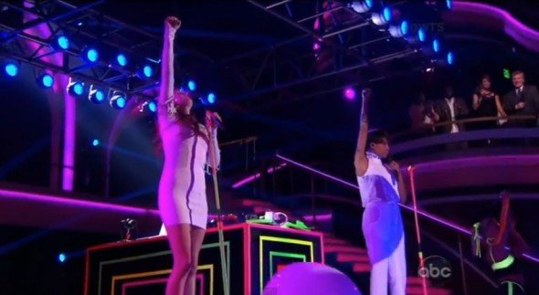 icona pop dancing with the stars