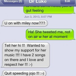 Dr Luke chat