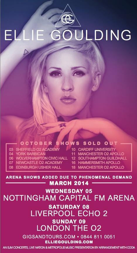 Ellie Goulding tour