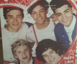 Let's have a look at the One Direction advent calendar