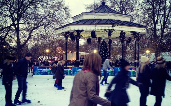 leona lewis at winter wonderland 1