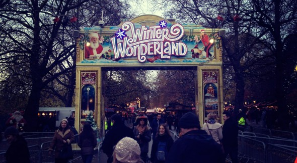 leona lewis at winter wonderland 6