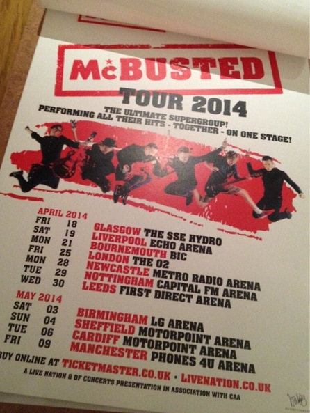 McBusted dates