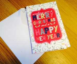Open Christmas Card To Miley Cyrus