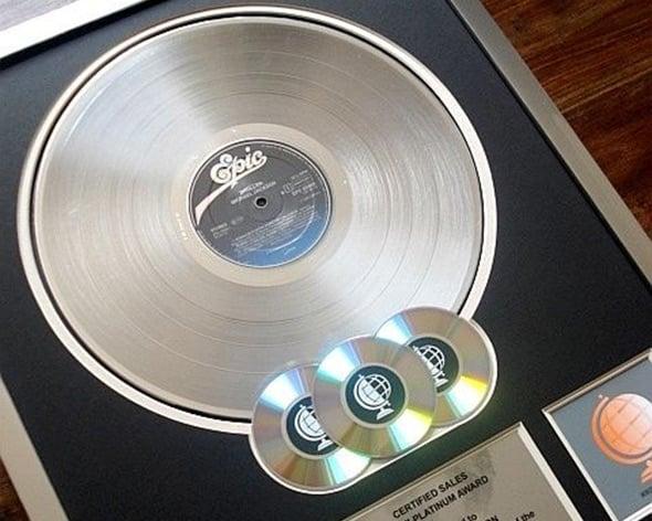 platinum-disc
