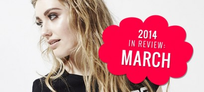 2014 in review: March, with Ella Henderson