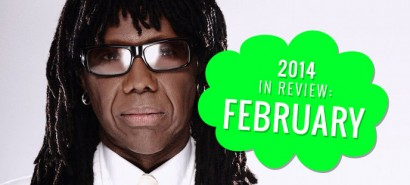 2014 in review: February, with Nile Rodgers