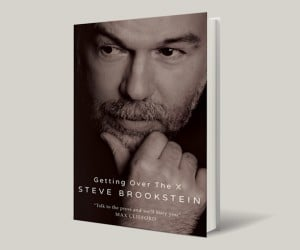 Steve Brookstein's got a book coming out. But what's in it?