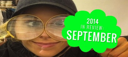 2014 in review: September, with Mollie from The Saturdays