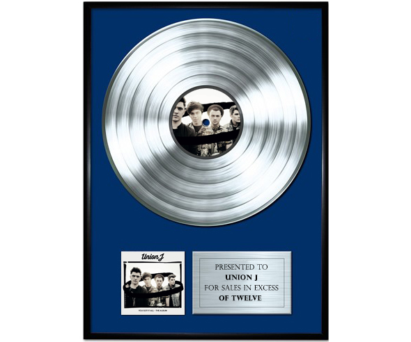 UNION-J-PLATINUM-DISC