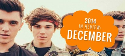 2014 in review: December, with George from Union J