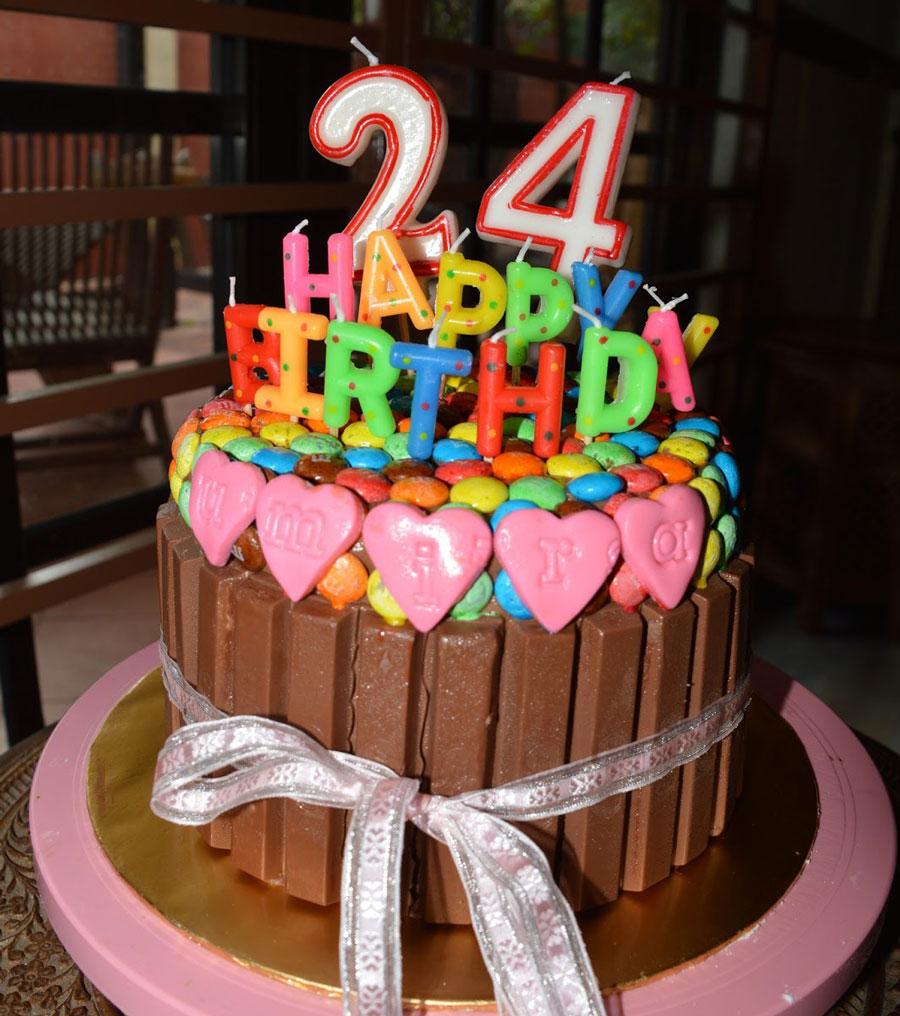 Открытка с днем рождения 24 года
