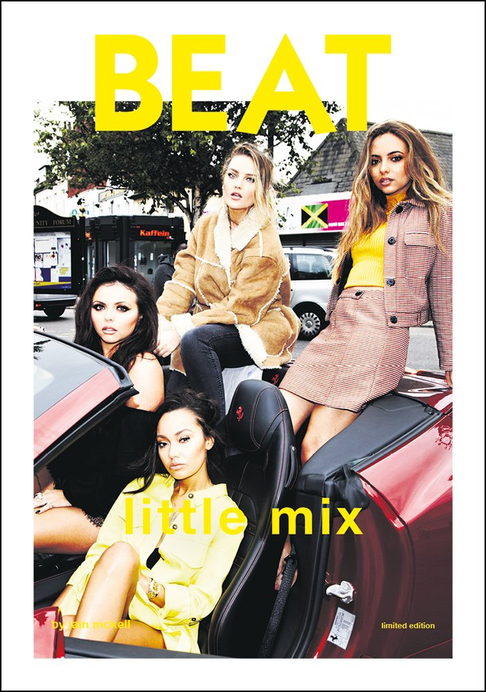Here are Little Mix being irresponsible on the cover of the new Beat magazine. In the event of a car accident, what effect will a seatbelt have?