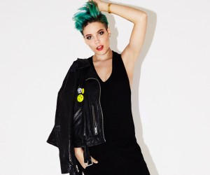 """Halsey interview: """"I don't believe people who say they're themselves all the time"""""""