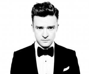"Justin Timberlake's new album ""punches you between the eyes"", apparently"