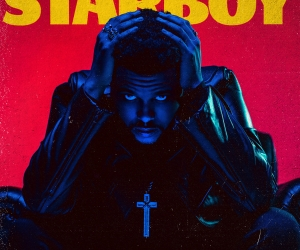 The Weeknd's shared the tracklisting for his new album 'Starboy'