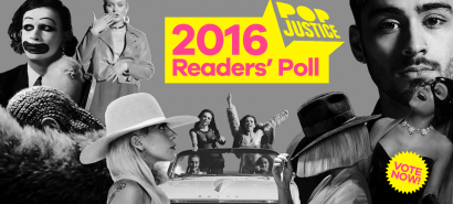 Voting is now open in Popjustice's 2016 Readers' Poll