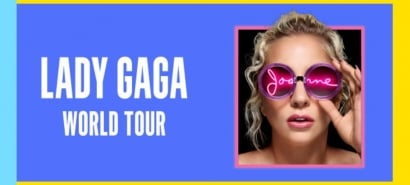 Lady Gaga's announced details of the Joanne world tour