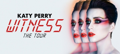 Katy Perry's announced a tour of Europe, starting next May