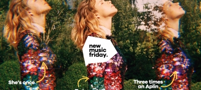 New Music Friday: Gabrielle Aplin at the top, Jessie J at the bottom, various songs in between
