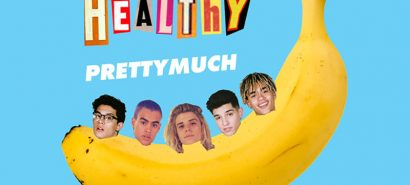 Saluting the artwork for PRETTYMUCH's Healthy